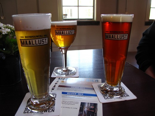 Maallust beer selection
