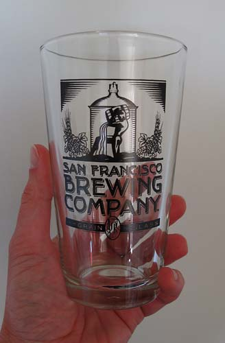 SF Brewing glass